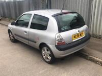 RENAULT CLIO 1.2 56 REG 2007/P/X TO CLEAR/CHEAP CAR.