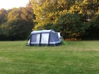 Kampa Travel Pod Maxi Air Drive Away Awning with carpet for VW Campervan