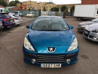 2007 Peugeout 307 Diesel Convertible Good Runner with history and mot