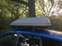 470 Litre Roof Box and Bars