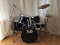 5 Piece CB Drum Kit with 3 Cymbals