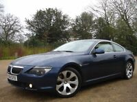 /// BMW 645 CI 2004 PLATE 6 SERIES COUPE 4.5 AUTOMATIC /// FULL SERVICE HISTORY /// BARGAIN /