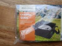Camping Sink Outdoor Portable Folding Washbasin Washbowl 10L BRAND NEW