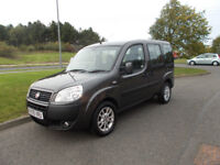 FIAT DOBLO 1.4 MPV WITH REAR WHEELCHAIR CONVERSION 2009 ONLY 61K MILES BARGAIN £3395*LOOK*PX/DELIVER