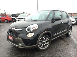 2015 Fiat 500L TREKKING**PANORAMIC SUNROOF**NAVIGATION**BLUETOOT