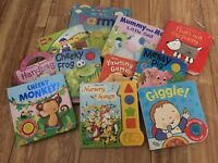 Collection of baby board books