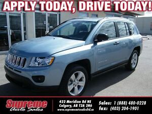 2013 Jeep Compass Sport/North 4X4 **EASY FINANCING**
