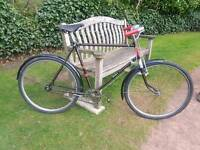 Antique beautiful WW2 bicycle