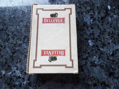 ancien jeu de carte publicitaire gueuze bellevue