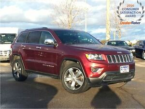 2016 Jeep Grand Cherokee LIMITED**POWER SUNROOF**REMOTE STARTER*