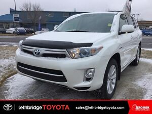 Toyota Certified 2013 Toyota Highlander Hybrid Limited - LOADED!