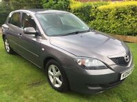 Fabulous Value 2006 Mazda 3 1.6 Katano 5 Door hatchback 130000 Miles Nov 22nd MOT SATNAV HPI Clear