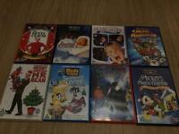 8 Christmas DVD's