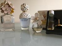 Three Daisy marc Jacobs perfume 6 months old