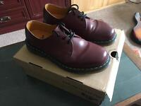 Dr Martens 1461 Shoes Cherry Red Size 8