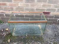 Old glass tank/vivarium