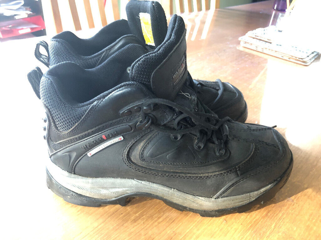 87d8990b495 Size 11 Used but very neat 'Warrior' Safety Waterproof Trainer Style Boots  must collect | in Sutton Coldfield, West Midlands | Gumtree