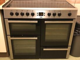 Beko Double Electric Range Oven/Grill