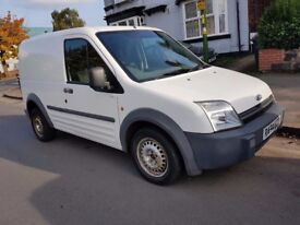 FORD TRANSIT CONNECT 2004 54 REG WHITE CLEAN BODY STARTS AND DRIVES SPARES OR REPAIRS BARGAIN