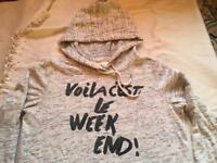 H&M ladies soft hoodies size 14 used £2
