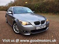 2006 BMW 525 M Sport 2.5d 175Bhp Auto*FSH*Leather*AC/Climate*Park aid*Cruise*Auto lite/Wiper*Btooth*