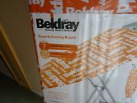 BELDRAY BRAND NEW/PACKAGED IRONING TABLE, 7 HEIGHT POSITIONS, BARGAIN £8, CAN DELIVER