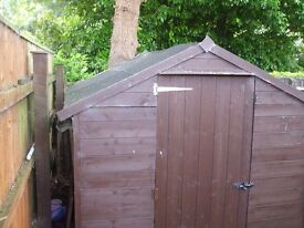 shed 7ftx6ft