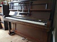 FREE Upright Piano, Colindale of London, Dark Mahogany Colour, FREE