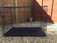 Dog Crate - large, as new