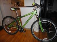 Quality Adult Size 21 Speed Mountain Bike With Front Suspension!