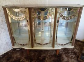 1950s Retro Display Cabinet
