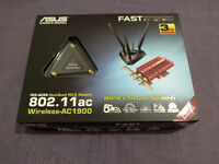 ASUS PCE-AC68 Wireless-AC1900 PCIe card