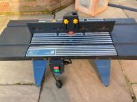 Power craft table & power craft router PBF-1200