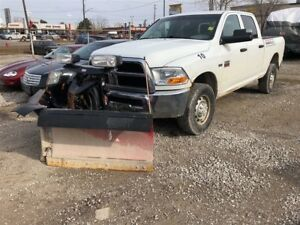 2012 Ram 2500 ST, Quad Cab, Automatic, Power Plow, 4x4