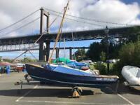 Cornish Coble Open Sailing Boat (like Drascombe)
