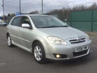 2006 TOYOTA COROLLA 1.6 AUTOMATIC * 5 DOOR * FULL HISTORY * 10 STAMPS * 1 YR MOT * 1 OWNER
