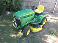 John Deere GX355 DIESEL Ride on Lawnmower/Compact Tractor/Garden Tractor