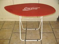 Coca Cola surfboard folding table