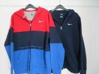 X2 BOYS NIKE HOODIES HOODED TOP JACKETS size XL Boy