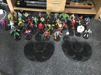 Complete marvel fact files figure set