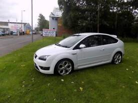 2007 Ford focus st3 frozen white £5200 or will listen to offers