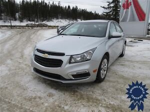 2015 Chevrolet Cruze LT Front Wheel Drive - 43,879 KMs, 1.4L Gas