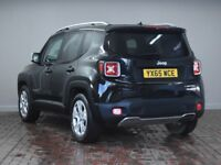 JEEP RENEGADE 1.4 MULTIAIR LIMITED 5DR (black) 2015