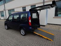 2010 60 Plate Fiat Doblo 1.4 Dynamic Wheelchair Accessible Vehicle Disabled FINANCE AVAILABLE
