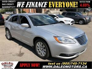 2012 Chrysler 200 LX| MP3 CAPABILITY| HEATED MIRRORS| CRUISE CON