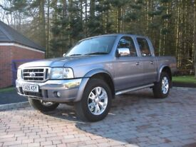 Ford Ranger XLT Thunder in outstanding condition for a 2005 vehicle.