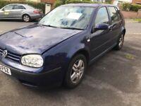 2003 Volkswagen Golf 1.9 TDI Blue Diesel