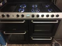 Range cooker Belling gas and electric ovens 110 cm
