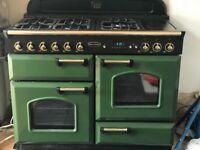 Rangemaster Classic 110 Green and Gold
