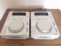 PIONEER CDJ 350 - LIMITED EDITION WHITE (PAIR)
